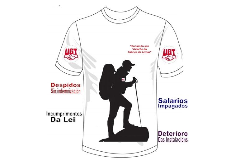 UGT convoca una concentración en la Fábrica de Armas y una marcha a pie reivindicativa