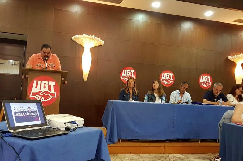 FeSMC preside el Comité Nacional de UGT Galicia