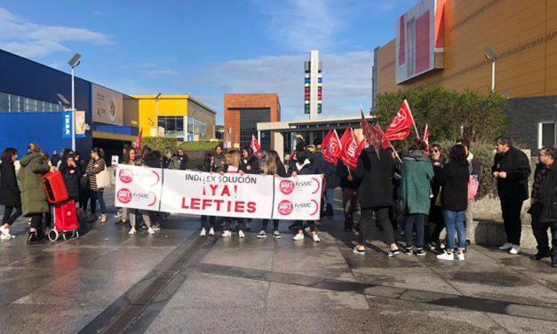 UGT denuncia que las personas empleadas de Lefties (grupo Inditex), cobran menos trabajando más y con mayor venta