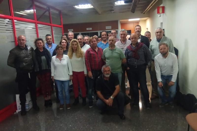 Los trabajadores de la Zona Azul de Vigo se encierran en el Ayuntamiento tras 77 días de huelga