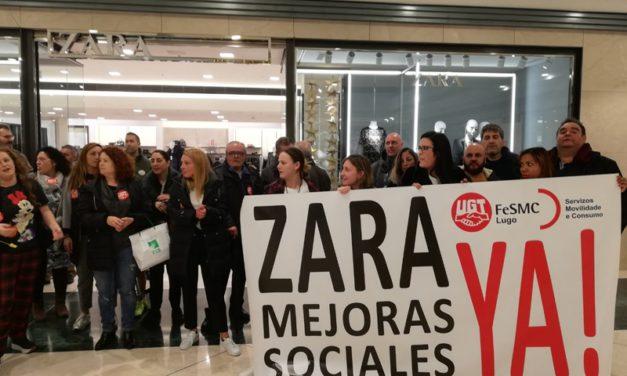 INDITEX discrimina a las trabajadoras de Lugo