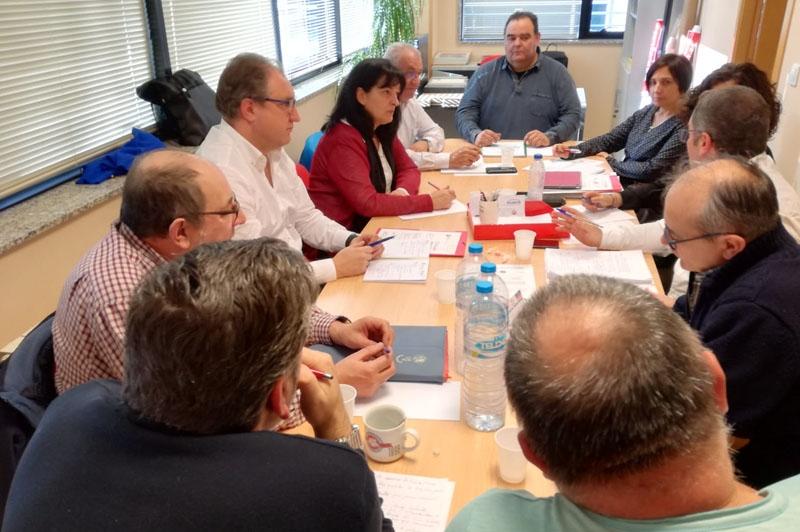 La Ejecutiva de Galicia abre las reuniones de 2019