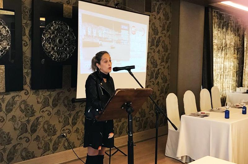 La Alcaldesa de Viveiro inaugura las jornadas sectoriales de FeSMC UGT Galicia en Viveiro