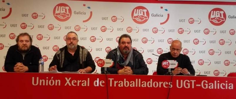 UGT advierte a las administraciones gallegas que no pueden seguir contratando servicios de seguridad con empresas insolventes