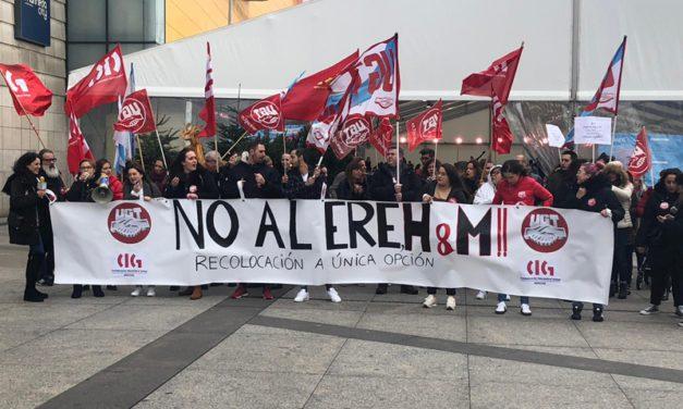 El ERE irregular de H&M es contestado con una huelga en A Coruña