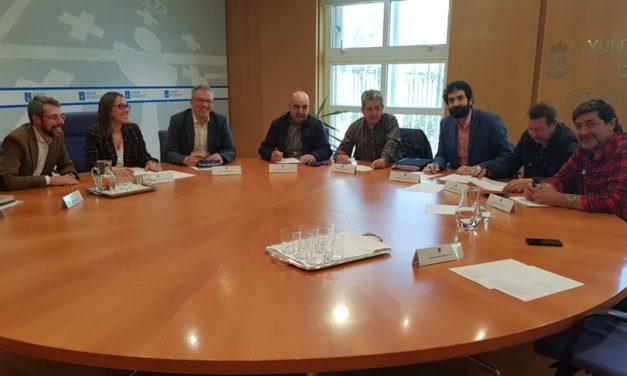 UGT firma los acuerdos sociales del plan de transporte con la XUNTA