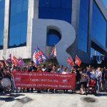 Más del 60% de los operadores de Contact Center  secundaron la huelga convocada por UGT ayer en las auxiliares de R-Cable