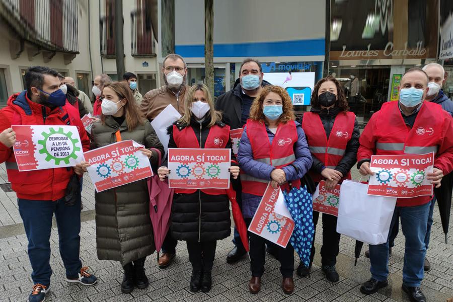 Galicia se concentra por nuestros derechos: Ahora Sí Toca