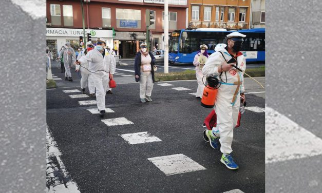 El sector de limpieza de la provincia de A Coruña sale a la calle