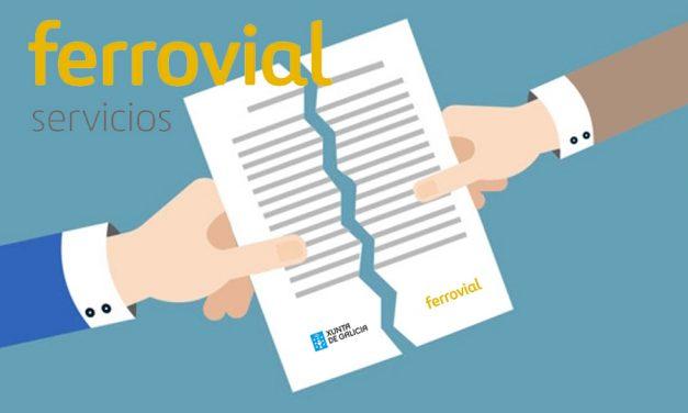 UGT solicita a Sanidade la rescisión de contrato a FERROVIAL
