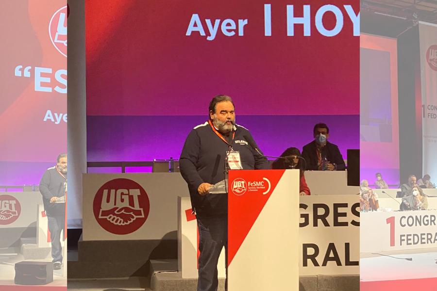 Eladio Romero y la delegación de Galicia, bien activos durante el I Congreso Federal