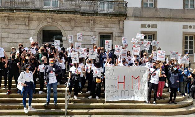 Cierre total en la primera jornada de huelga de H&M